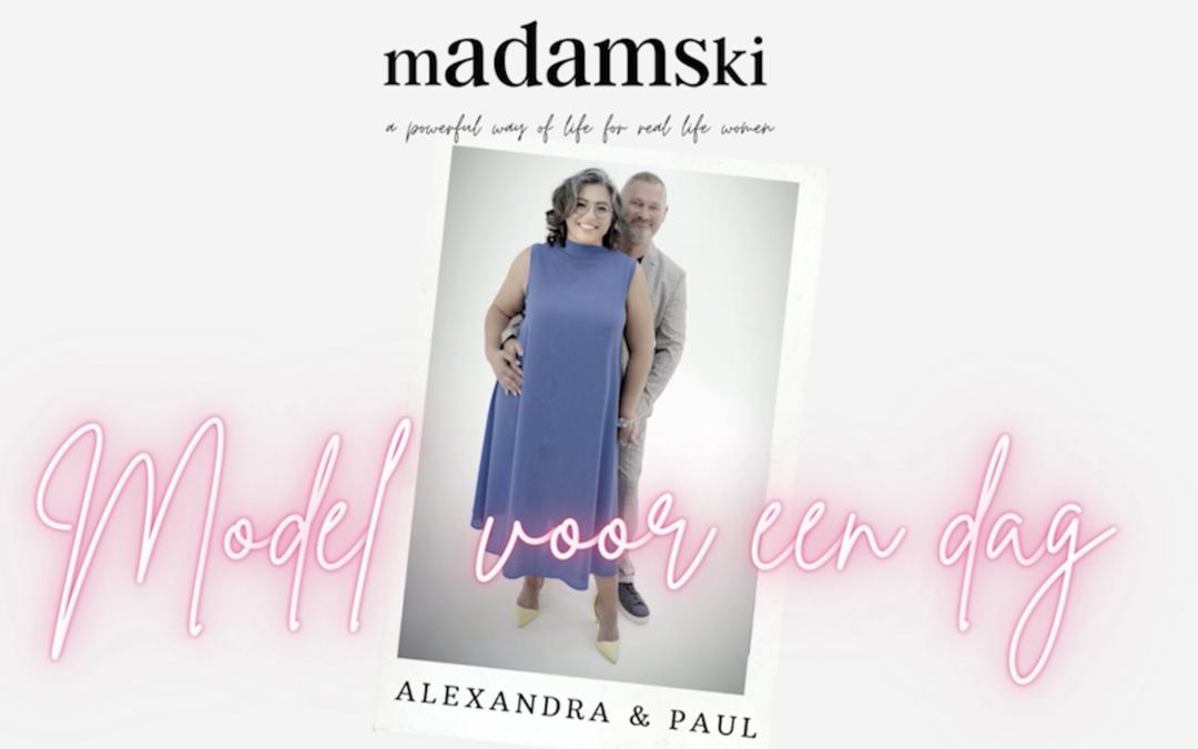 model voor een dag: Paul & Alexandra