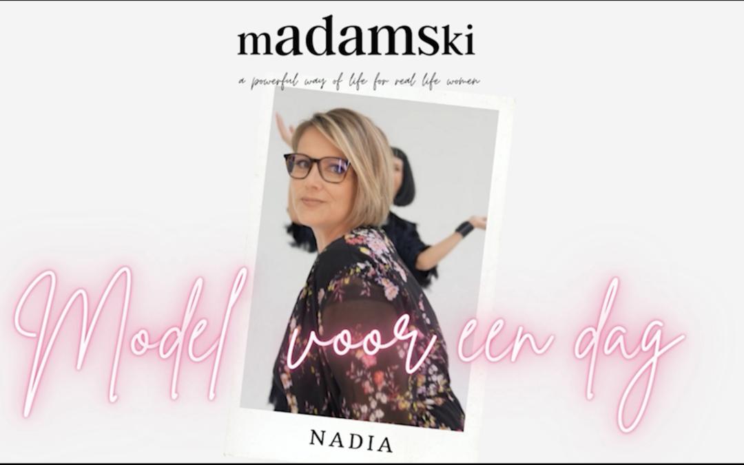 model voor een dag: Nadia